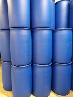 208l vat blauw