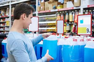 opslag gevaarlijke stoffen winkelvloer