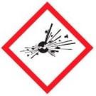 Gevaarsymbool explosief
