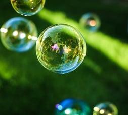 groen met bubbels